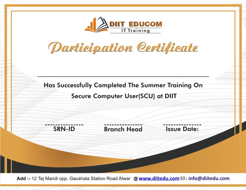 diitfreetraining-scu-certificate